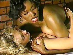 Interracial lesbian kissing pornube