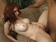 Big Boobs Facial Interracial MILF Redhead