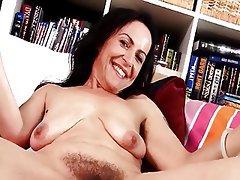 Hairy Lesbian MILF