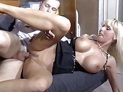 Blonde German Big Boobs Pornstar