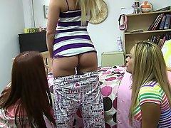 Blonde, Brunette, Coed, College