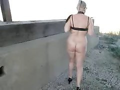 Amateur Granny Mature MILF Outdoor