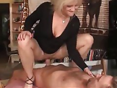 Anal Blonde German Facial