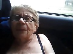 Amateur German Granny Masturbation