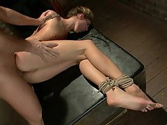 anal fucked Tied and up