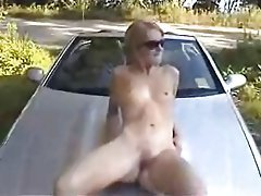 Amateur Outdoor Skinny Small Tits