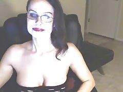 Masturbation, Mature, Webcam