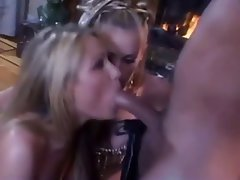 Anal Blonde Pornstar Threesome