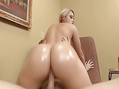 Big Boobs Blonde Blowjob Cumshot Pornstar