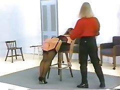 BDSM Femdom Spanking