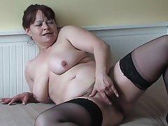 BBW Granny Masturbation Mature