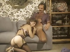 Cumshot Hairy Lingerie Stockings Vintage