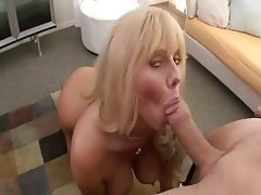 Big Boobs Blonde Blowjob Mature Cumshot