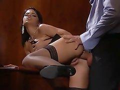 Anal Cumshot Pornstar Stockings