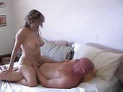 Big Boobs Blonde Blowjob Cumshot