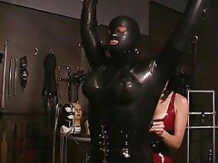 BDSM Brunette MILF Femdom Latex