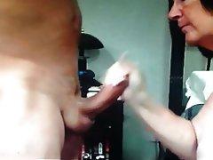 Amateur Big Boobs Blowjob Handjob