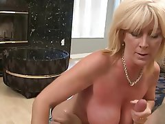 Handjob MILF Old and Young