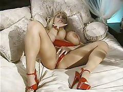Masturbation MILF Big Boobs Blonde