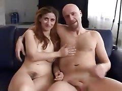 German Hairy Hardcore Threesome