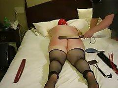 Amateur BBW BDSM Granny Spanking