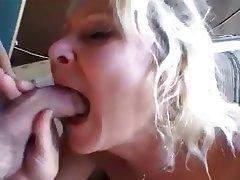Anal Blonde Cumshot Granny Mature