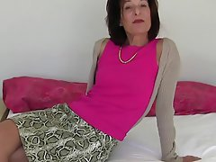 Masturbation Mature Stockings