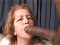 Brazil Cumshot Granny Interracial