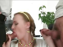 Anal, Big Boobs, Cumshot, Double Penetration, Threesome