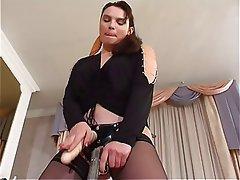 BDSM Femdom Russian Strapon