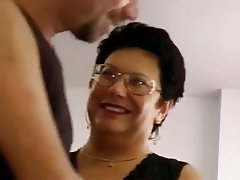BBW Blowjob Cumshot Mature Old and Young