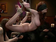 BDSM Black Redhead