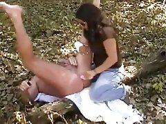 Amateur Bisexual Femdom Outdoor