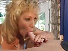 Blonde Blowjob Facial Mature MILF