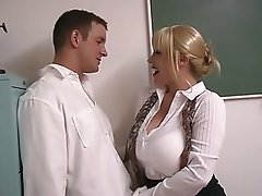 Teacher big watch tits rewards milf