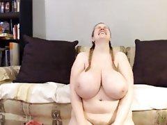Big Boobs Blonde Close Up Webcam