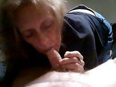 Amateur Blowjob Cumshot Granny Mature