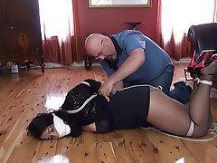 Pantyhose and girdle bondage free pantyhose bondage porn