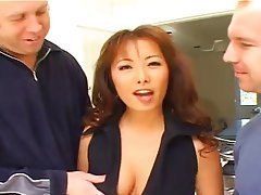 Gangbang, Hardcore, Interracial, Asian