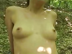 Amateur Babe German Hairy Outdoor