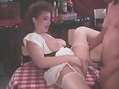 Big Boobs Lingerie MILF Stockings
