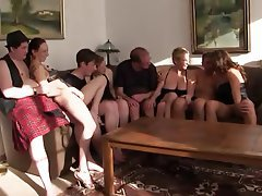 Amateur Blowjob German Old and Young Swinger