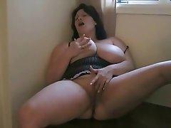 Bbw anal masterbation