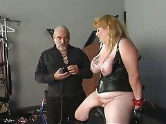 BBW Big Boobs BDSM MILF Foot Fetish