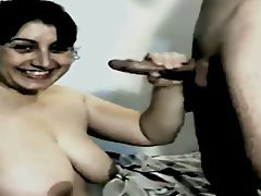 BBW Big Boobs Blowjob Indian Mature