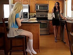 Babe Blonde Brunette Housewife
