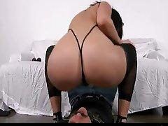 Ass Licking Brunette Face Sitting