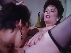 Babe Brunette Hardcore Threesome Vintage