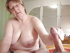 Grandad and grandma homemade wanking - free