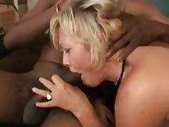 Anal Blowjob Interracial MILF Threesome
